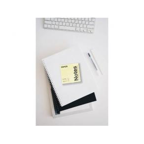 Notes STAPLES 76x76mm gul