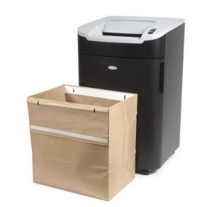 Avfallssäckar återvinningsbara REXEL Auto+ 750, 115L, 50st