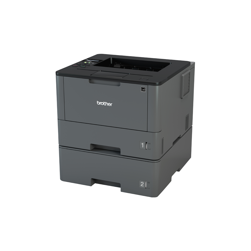 Brother HL-L5100DNT - Skrivare - monokrom - Duplex - laser - upp