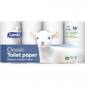 Lambi toalettpapper 5x8st