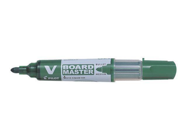 Whiteboardpenna Pilot V Board Grön, konisk