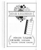 Kalender 20-21 Doodle III