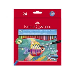 Akvarellpenna Faber-Castell, 24 färger