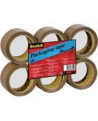 Packtejp SCOTCH 371 PP 66mx50mm brun6/FP