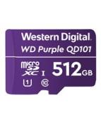 WD Purple SC QD101 WDD512G1P0C - Flash-minneskort - 512 GB