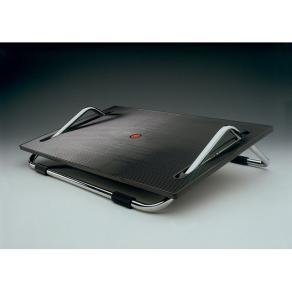 Fotstöd TWINCO ergonomiskt svart/krom