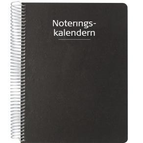 Noteringskalendern för lärare 19-20