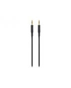Audio 3.5mm M/M Portable, Black (2m)