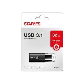 USB-Minne STAPLES USB 3.1 32GB