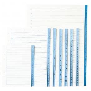 Pärmregister papper A4   1-52