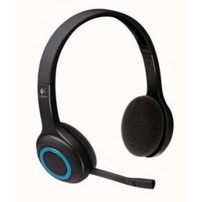 Headset med sladd - H600 Wireless Headset, Black/Blue
