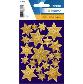 Herma stickers Decor stjärna guld (2) 10st