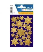 Herma stickers Decor stjärna guld (2)