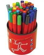 Fiberpenna BEROL Colourbroad 42 pennor