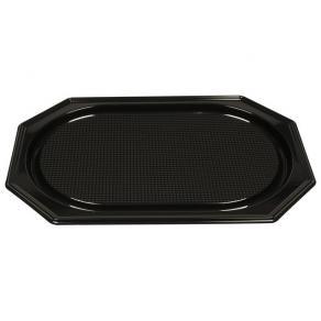 Serv.fat plast svart PS 36x54cm 10/FP