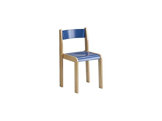 Barnstol Kulör Blå, sitthöjd 38cm