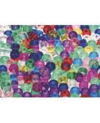 Plastpärlor Kongo, 650/fp