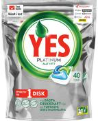 Yes Platinum maskindisk  40/st