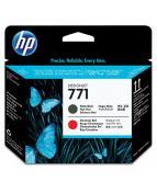 Skrivhuvud HP CE017A 771 Mattsvart/K-röd