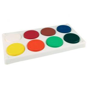 Färgblock Palett, 57mm, 8 färger