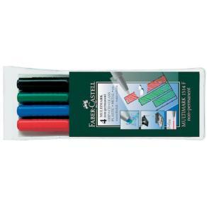 Box med 4 pennor LUMOCOLOR