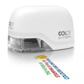 E-mark COLOP, elektronisk stämpel, vit (+300 etiketter)
