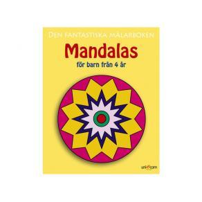 Målarbok Mandala, från 4 år