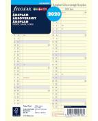 Filofax Årsplan A5 2020, S/D/N