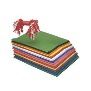 Silkespapper, sorterade färger, 50x75cm, 375 ark/fp