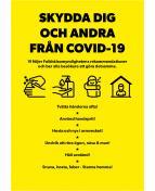 Affisch Skydda dig 50x70 10/fp