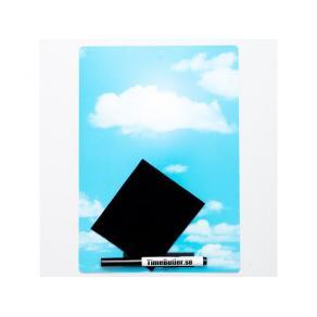 Whiteboard Kontor A4 Himmel
