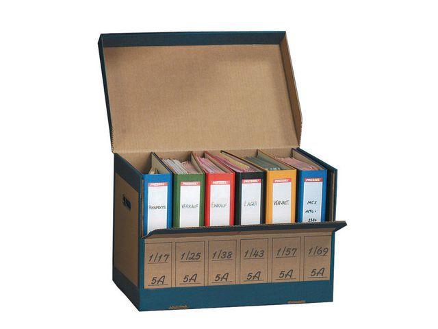 Arkivbox för pärmar PRESSEL, 10st