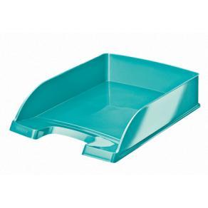 Brevkorg Leitz WOW Plus isblå, 255x357x70mm