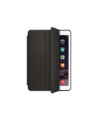 Apple Smart - Vikbart fodral för surfplatta - läder - svart