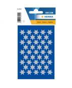 Herma stickers Decor stjärna ø14 silver (3)