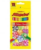 Färgpenna Alligator 12 färger