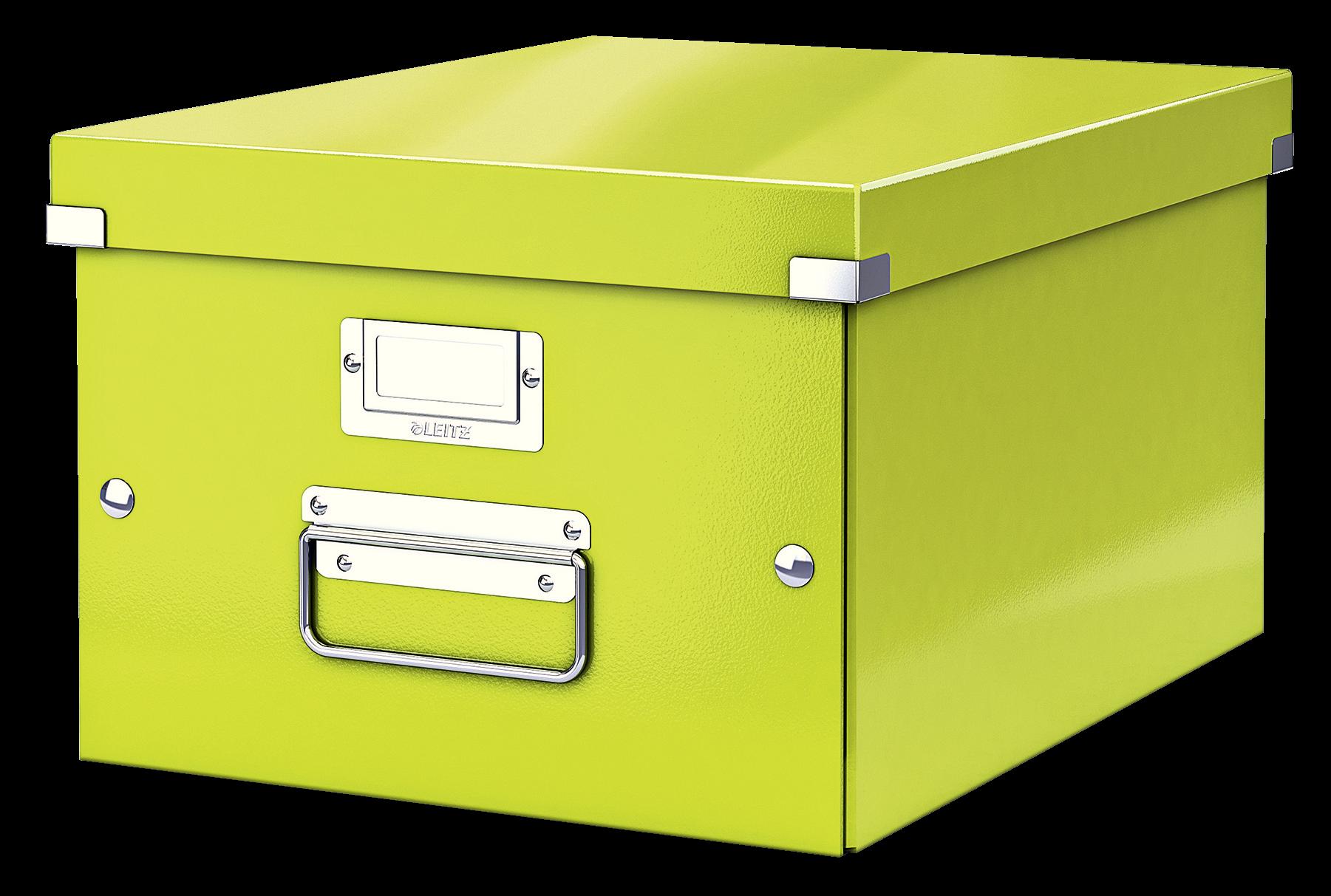 Förvaringslåda Medium Click & Store WOW Grön