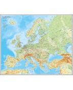 Europakarta 1:5,5milj 98x82cm